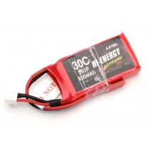 Hi-Energy 2S 650mAh 30C LiPo  O-HE2S1P065030 Battery