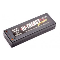 Hi-Energy 2S1P 3000mAh 35C Car Li-Po O-HE2S1P300035C Battery