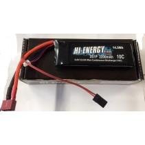 Hi-Energy 2S 2200mAh 10C Li-Fe RX  O-HE2SFE220010