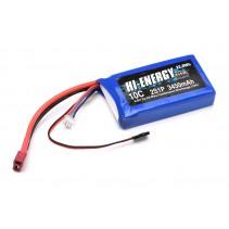 Hi-Energy 2S 3450mAh 10C Li-Fe RX Battery O-HE2SFE345010R