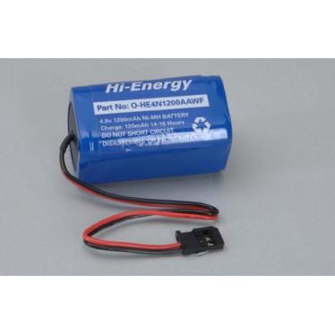 4.8V 1200mAh Ni-Mh Rx Pk Square O-HE4N1200AAWF Battery