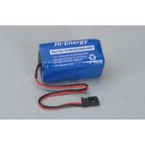 Hi-Energy 4.8V 2200mAh Ni-MH Rx Pk Square O-HE4N2200AAWF