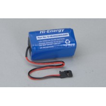Hi-Energy 4.8V 2200mAh Ni-MH Rx Pk Square O-HE4N2200AAWF Battery