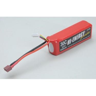 Hi-Energy 4S 2200mAh 30C Li-Po Battery O-HE4S1P220030