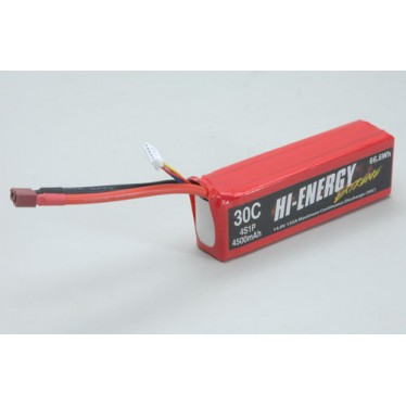 Hi-Energy 4S 4500mAh 30C Li-Po Battery O-HE4S1P450030A