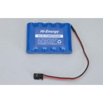 O-HE5N1200AASF6.0V 1200mAh Ni-Mh RX Pk Flat Battery