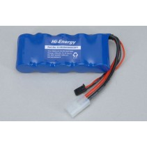 Hi-Energy O-HE5N3300SCSFT 6.0v 3300mAh Ni-MH Rx Pk Flat Battery Pack
