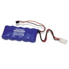 Hi-Energy 6.0v 5000mAh Ni-MH Rx Pk Flat Battery Pack HE5N5000SCSFT