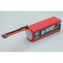 Hi-Energy 5S 4500mAh 30C Li-Po Battery O-HE5S1P450030