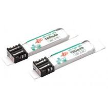 Intellect Intel. 1S 160mAh 25C Li-Po(2pcs)N1 (2) Battery