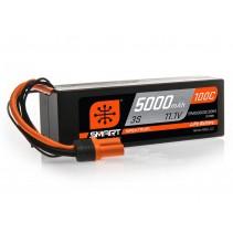 Spektrum 5000mAh 3S 11.1V 100C Smart Lipo Hardcase IC3 SPMX50003S100H3