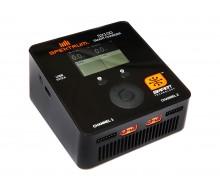 Spektrum Smart S2100 AC Charger 2x100W O-SPMXC1010I