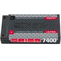 Kyosho Orion Carbon Pro 7400mAh 3.7v 1s LiPo Battery 110C ORI14086