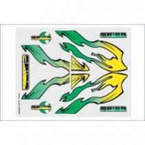 Internal Graphics s et Smoke Green/Yellow