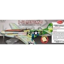 Guillows P-51 Mustang Balsa Model Kit