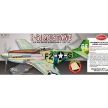 Guillows P-51 Mustang Balsa Model Kit