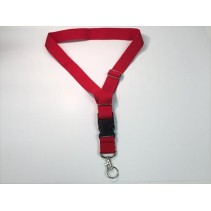 Deluxe Neck Strap - Red - P-LG-NS