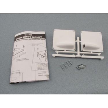 Radio Active Wing Servo Mount Standard Pair RCA200