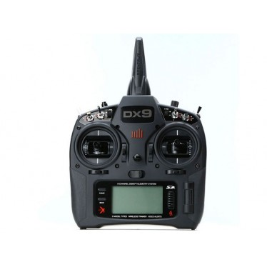 Spektrum DX9 BLACK Transmitter ONLY Mode 2 EU P-SPMR9910EU