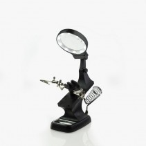 Modelcraft Helping Hands & LED Magnifier Workstation PCL2400