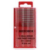 Model Craft Microbox Drill Set 0.5-2.2mm PDR4005