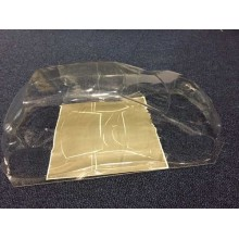 Peugeot 206cc Body Shell with Window Mask 1/12
