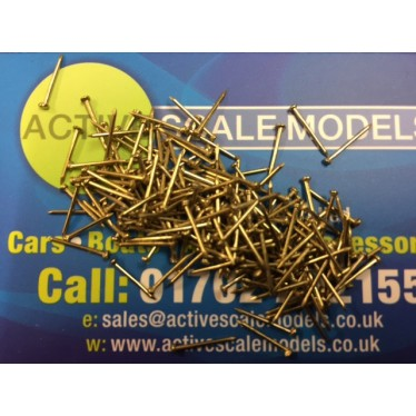 Artesania Latina Brass Nails/Pins 10mm (200u) AL8602
