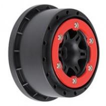 Proline Split Six SC Red/Black Slash RR/Slash 4x4 PL2715-04