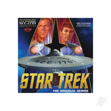 Polar Lights Star Trek TOS Enterprise 50th Anniversary Edition POL938