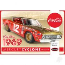 Polar Lights Bobby Allison 1969 Coca Cola Mercury Cyclone 1:25 POL948