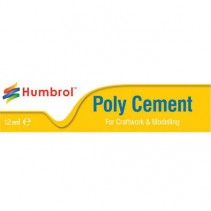 Humbrol Medium Poly Cement 12ml