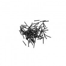 Model Craft100x10mm Black Pins PU8174PB