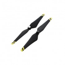 Props 9450 Carbon Fibre Self-Tightening (Composite Hub, Black and Yellow Stripe)