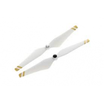Props 9450 Self-Tightening (Composite Hub, White with Gold Stripes)
