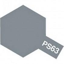 Tamiya PS-63 Bright Gun Metal Paint Spray 100ml