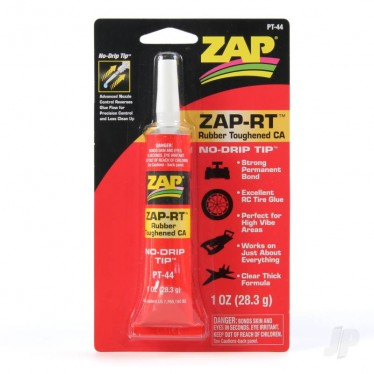 ZAP RT-Rubber Toughened CA 1oz PT-44