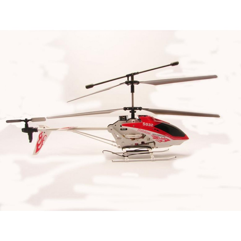 Rc syma s032g fiery dragon gyro 3ch electric remote for Helicoptere syma