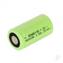 Radient Superpax Battery SC 1.2V 1-Cell 4000mAh NiMH Glow
