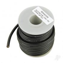Silicone Wire 12GA 1062 Strand BLACK RDNA0356