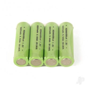 Radient NiMH 1.2V 2200mAh AA Consumer x 4 RDNA0650