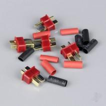 Radient Deans Male inc Heat Shrink (ESC End) (5 pcs) RDNAC010004