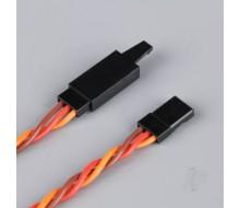 JR TWISTED HD EXT LEAD W/CLIP 1000MM RDNAC010229