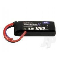Radient LiPo 3S 1000mAh 11.1V 20C JST RDNB10003SJ20