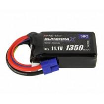 Radient LiPo 3S 1350mAh 11.1V 30C EC3 RDNB13503S30
