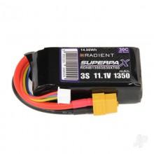 Radient LiPo 3S 1350mah 11.1V 30C XT60 RDNB1350S30XT60