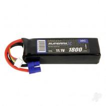 Radient LiPo Battery 3S 1800mAh 11.1V 30C EC3 RDNB18003S30