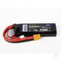 Radient LiPo 2S 2200mAh 7.4V 30C XT60 RDNB22002S30XT60