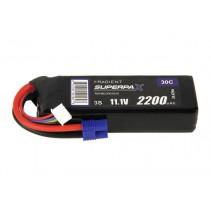 Radient LiPo 3S 2200mAh 11.1V 30C EC3 RDNB22003S30H