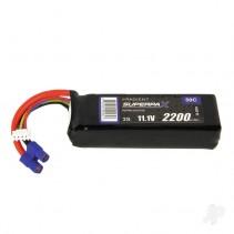 Radient LiPo 3S 2200mAh 11.1V 50C EC3 RDNB22003S50