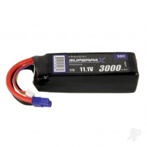 Radient LiPo 3S 3000mAh 11.1V 30C EC3 RDNB30003S30